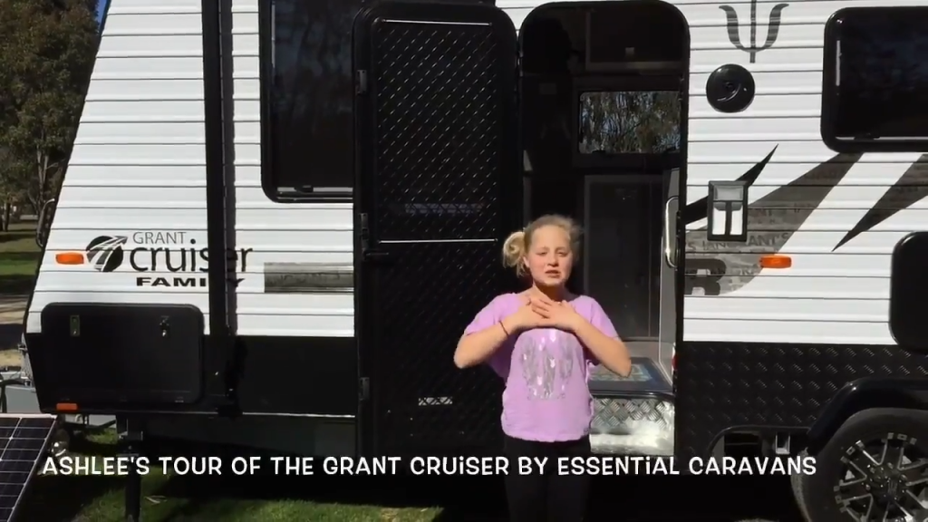 Essential Caravans GRANT CRUISER FULL walk through with Ashlee 0-1 screenshot