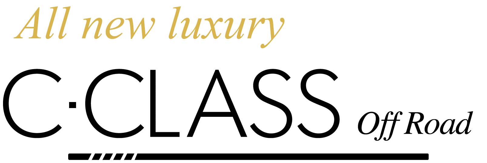 C Class Off Road Logo